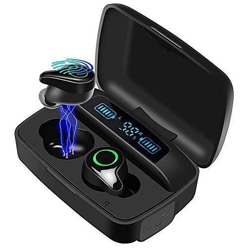 Moosen Auriculares Bluetooth 5.0, Auriculares Inalámbricos 156H Tiempo de Juego Bajo Profundo Hi-Fi Sonido Estéreo...
