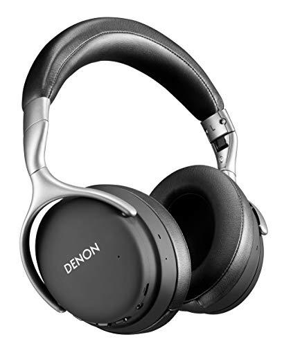 Denon AH-GC30 - Auriculares inalámbricos con cancelación de Ruido (40 mm, Bluetooth), Color Negro