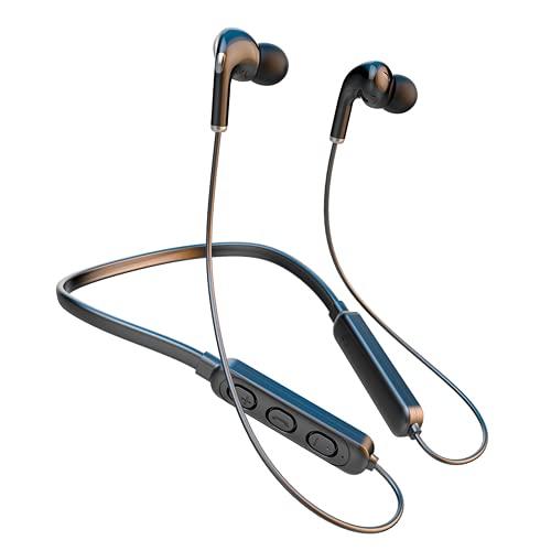 Auriculares Inalámbricos, Auriculares Deportivos Bluetooth 5.1 Mini Cascos In-Ear IPX7 Impermeable, Control Tactil,...