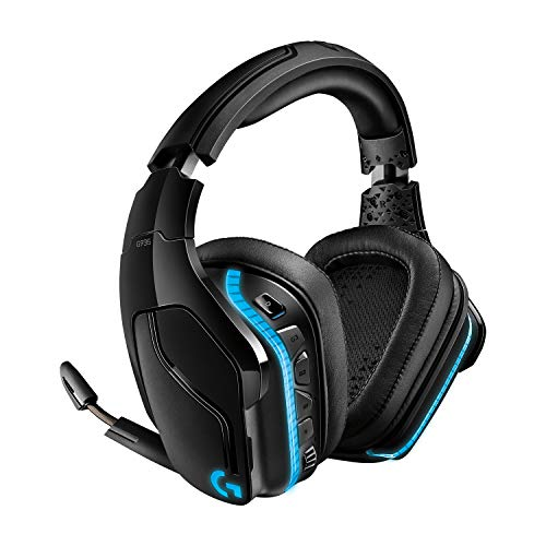 Logitech G935 Auriculares Gaming RGB Inalámbricos, Sonido 7.1 Surround, DTS Headphone:X 2.0, Transductores 50mm Pro-G,...