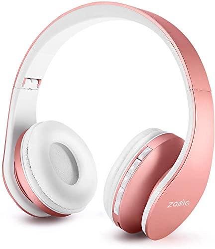 Auriculares Bluetooth para niños, Auriculares Plegable para niños con Volumen Limitado, niñas y niños, Auriculares...