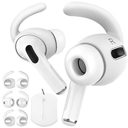 Demason 3 Pares Almohadillas Auriculares para Airpods Apple Pro3 Earpods Earhook, Almohadillas Auriculares...