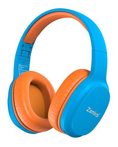 Auriculares Inalámbricos para Niños Zamkol ZH100,Auriculares Bluetooth Diadema para Niños,con 85dB de Volumen...