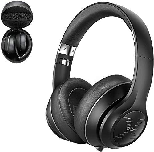Auriculares Bluetooth Tribit XFree Tune-Auriculares inalámbricos con hasta 40 Horas de reproducción. Sonido estéreo...