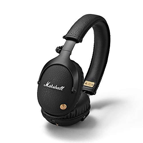 Marshall Monitor Bluetooth - Auriculares APTX, tecnología bluetooth, con más de 30 horas de tiempo de reproducción,...