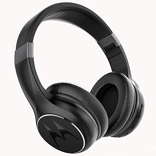 Motorola Escape 220 - Auriculares y Cascos HD Sound Bluetooth - Compatible con Alexa, Siri y Google Now - Negro