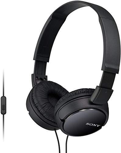 Sony MDR-Zx110Apb - Auriculares para Smartphone (Diadema, Mando de Control, Micrófono, 1000 Mw, Android y Iphone),...