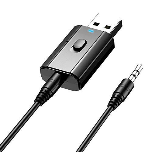 Rpanle Adaptador Bluetooth 5.0, Mini Receptor Bluetooth y Transmisor Bluetooth 5.0 2 en 1 Adaptador de Dongle Bluetooth...