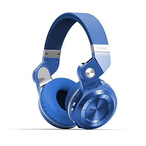 Bluedio Turbine 2 Shooting Brake T2SLCA001 - Auriculares inalámbricos Bluetooth con micrófono plegable, color azul