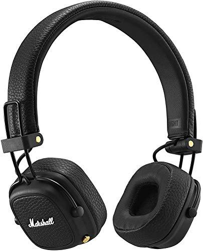 Marshall Major III Auriculares Bluetooth Plegables (Supraaural, Diadema, Inalámbrico y alámbrico, 20-20000 Hz, 97 Db),...