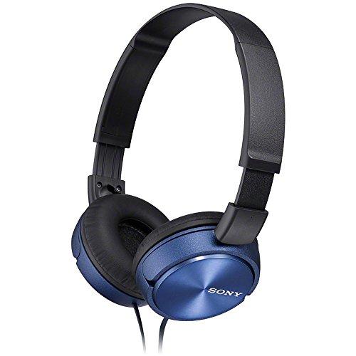 Sony MDR-ZX310L - Auriculares de diadema cerrados (sin micrófono), azul