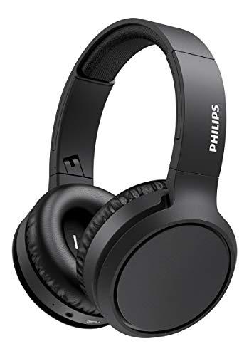 Philips H5205BK/00 Auriculares Inalámbricos Bluetooth, Auriculares Supraaurales (Micrófono, Botón Refuerzo Graves, 29...