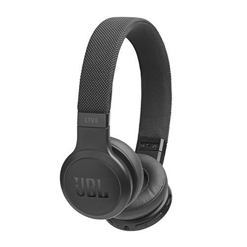 JBL LIVE 400BT - Auriculares Inalámbricos con Bluetooth, asistente de voz integrado, calidad de sonido JBL con...