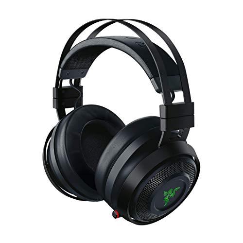Razer Nari Ultimate Auriculares Inalámbricos Tecnología HyperSense, THX Spatial Audio, Almohadillas con Gel de...