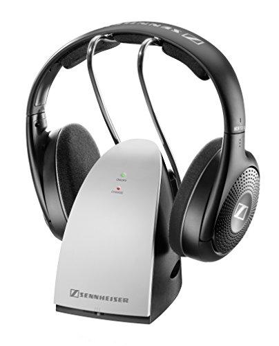Sennheiser RS 120 II - Auriculares de diadema abiertos inalámbricos, negro y plata