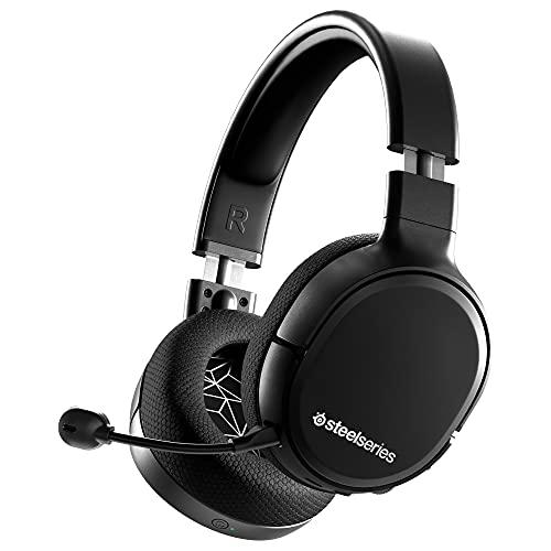 SteelSeries Arctis 1 Wireless Auriculares inalámbricos para juegos – USB-C Inalámbrico – PC / PS5 / PS4 / Nintendo...