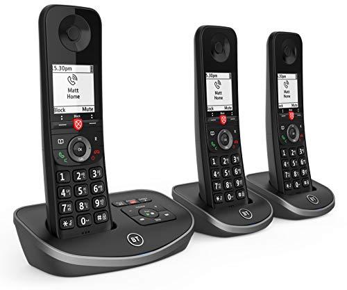 BT Avanzada inalámbrico teléfono de la casa con un 100% de Llamadas molestas Bloqueo y un contestador automático,...