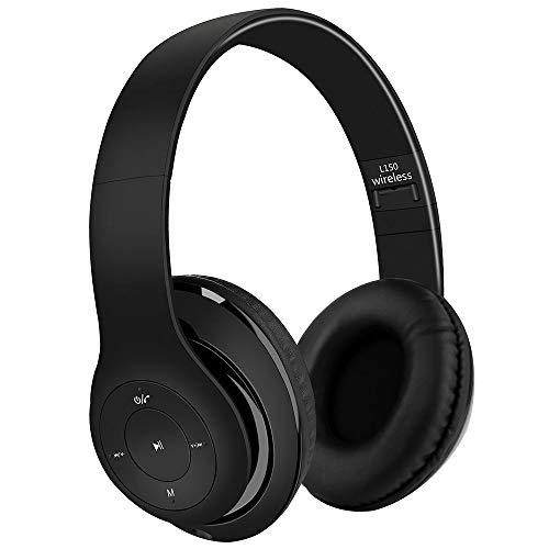 Satohom Auriculares Bluetooth de Diadema Cascos Bluetooth Inalámbrico Auriculares Plegable Cascos Over Ear con...