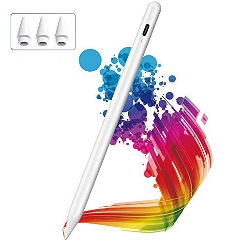 Lápiz para iPad, KINGONE Stylus Pen con Rechazo de Palma, iPad Pencil【Sin Demora/Detección de Inclinación】para...