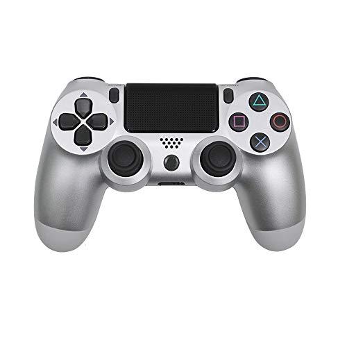 Mando Ps4 Inalambrico Alta Sensibilidad,Doble Vibración Seis Ejes Mando Game,Touchpad Bluetooth Gamepad...