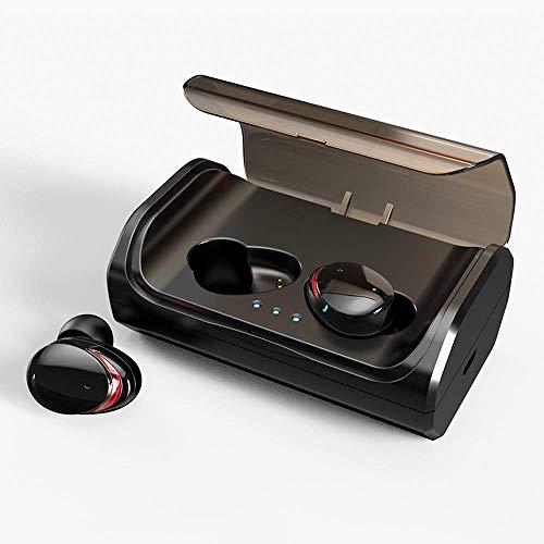 HolyHigh Auriculares Bluetooth 5.0 con 3000mAh Estuche de Carga CVC8.0 Cascos Bluetooth Inalámbricos Impermeable con...