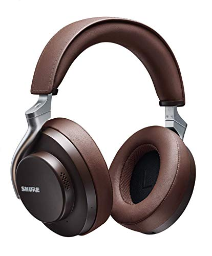 SHURE AONIC 50 - Auriculares Inalámbricos y con Cancelación de Ruido, Calidad de Estudio, Bluetooth 5, Ajuste, Seguro...