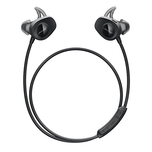 Bose SoundSport - Auriculares inalámbricos (Bluetooth, NFC, micrófono), color negro