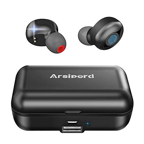 Auriculares Inalámbricos Bluetooth 5.0, Auriculares Deportivos En La Oreja, 60H ReproduccióN CancelacióN de Ruido 3D...