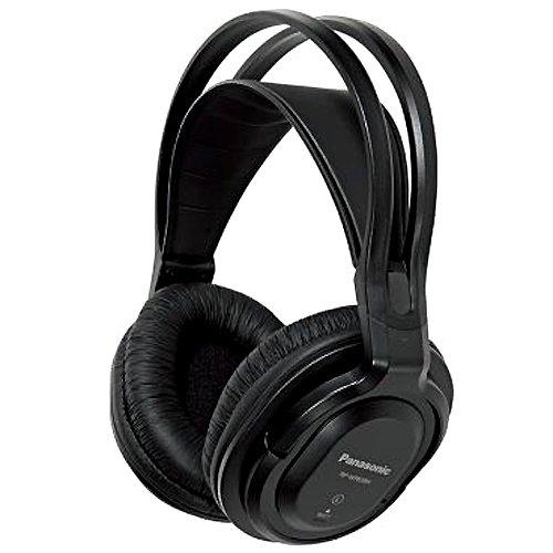 Panasonic RP-WF830E-K - Auriculares Inalámbricos Diadema (Adecuado para Personas Mayores, Hi-Fi Sonido, Base...