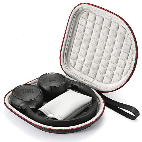 Estuche rígido para JBL T450BT / JBL T500BT sobre Oreja Auriculares inalámbricos Bluetooth, Bolsa Protectora de Viaje...
