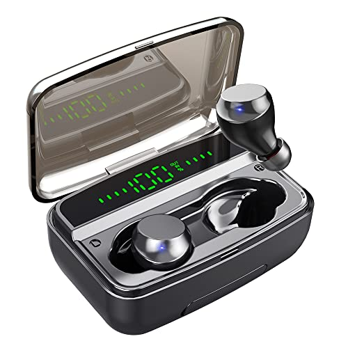 Auriculares Inalambricos, Auriculares Bluetooth con 150H Playtime 3500mAh, Estéreo HiFi y HD Mic, Cascos Inalambricos...