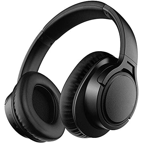 Auriculares Inalámbricos 5.0, Auriculares Over Ear con Micrófono Incorporado, Estéreo Hi-Fi, Modo...