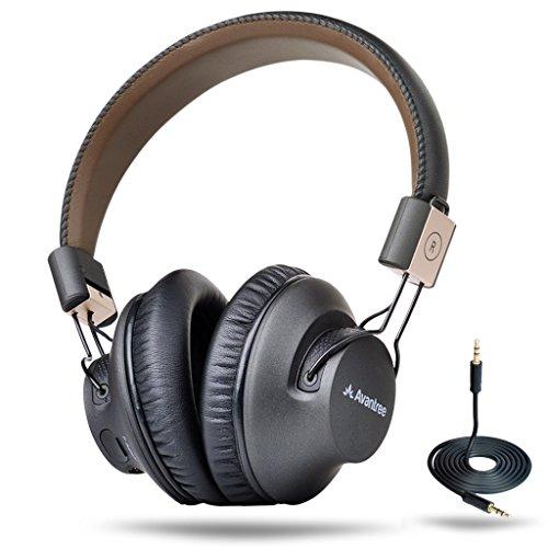 Avantree Audition Pro 40 Horas Aptx Baja Latencia Auriculares Inalambricos para TV PC, Plegable Cascos Bluetooth de...