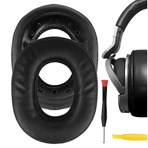 Geekria QuickFit - Almohadillas de piel de proteína para auriculares inalámbricos Sony MDR-HW700, MDR-HW700DS,...