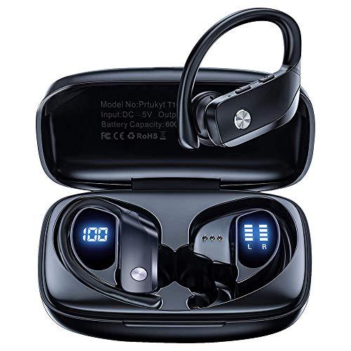 Auriculares Inalambricos Deportivos, Audífonos para Correr con Bluetooth 5.0, In-Ear Running Auriculares Wireless IPX5...