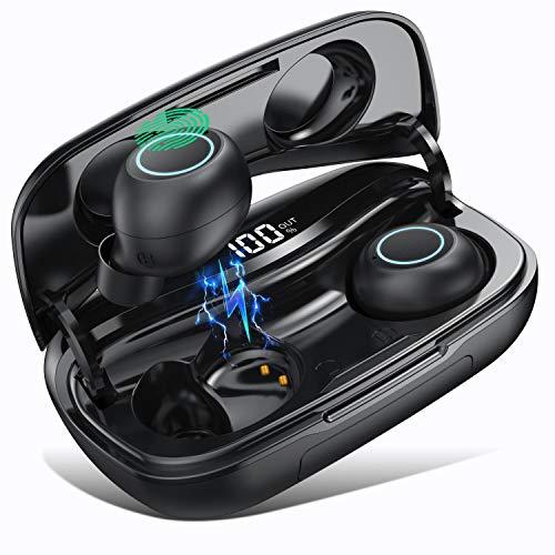 Auriculares Bluetooth S9, SWEYE Auriculares Inalámbricos Hi-Fi Micrófono Incorporado Bluetooth 5.0 Sonido Estéreo...